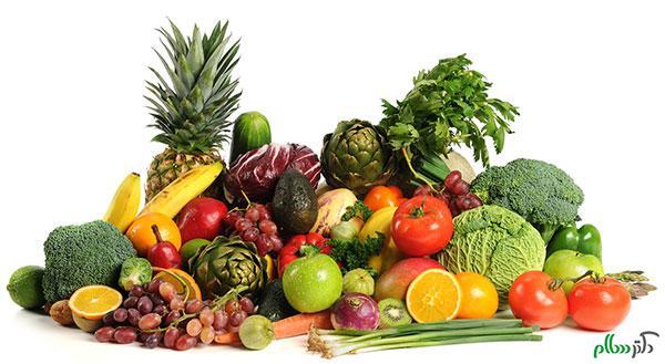 بیماری هایی که با مصرف سبزی ها و میوها درمان می شوندبیماری هایی که با مصرف سبزی ها و میوها درمان می شوند